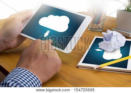 Live Streaming  Backup Download   Computing Digital Data Transferring , Streaming Download