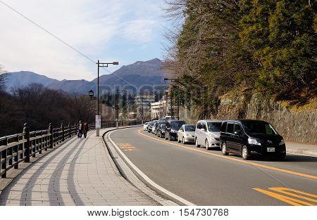 Street In Nikko, Japan