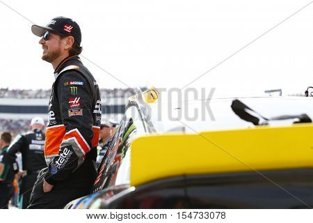 Martinsville, VA - Oct 30, 2016: Kurt Busch (41) hangs out on the grid before racing in the Goody's Fast Relief 500 at the Martinsville Speedway in Martinsville, VA.