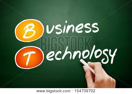 Hand Drawn Bt - Business Technology
