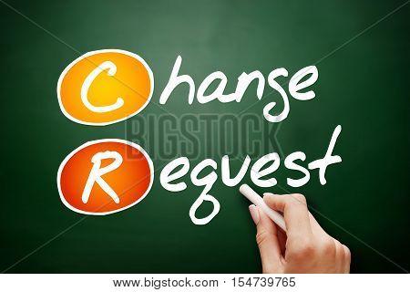 Hand Drawn Cr - Change Request