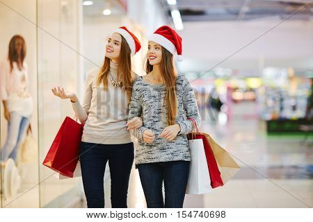 Shopping on Christmas