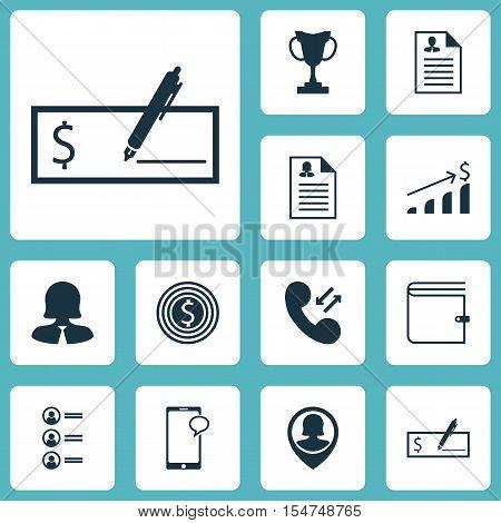 Set Of Hr Icons On Job Applicants, Tournament And Curriculum Vitae Topics. Editable Vector Illustrat