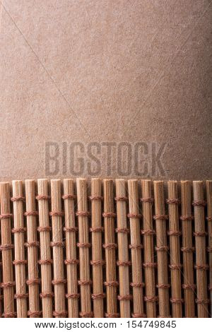 Straw Mat For Background Usage