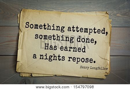 Top 45 quotes by Henry Longfellow - American poet and educator. 