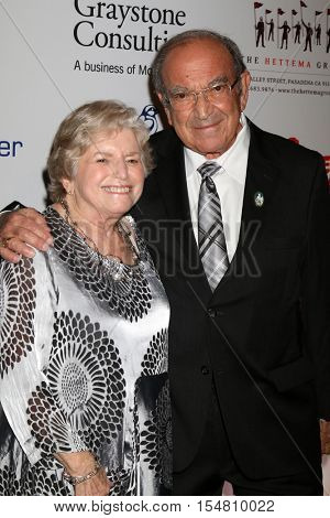 LOS ANGELES - NOV 1:  Wife, Marty Sklar at the The Walt Disney Family Museum 2nd Annual Fundraising Gala at Disneys Grand Californian Hotel & Spa on November 1, 2016 in Anaheim, CA