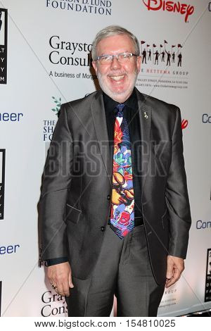 LOS ANGELES - NOV 1:  Leonard Maltin at the The Walt Disney Family Museum 2nd Annual Fundraising Gala at Disneys Grand Californian Hotel & Spa on November 1, 2016 in Anaheim, CA