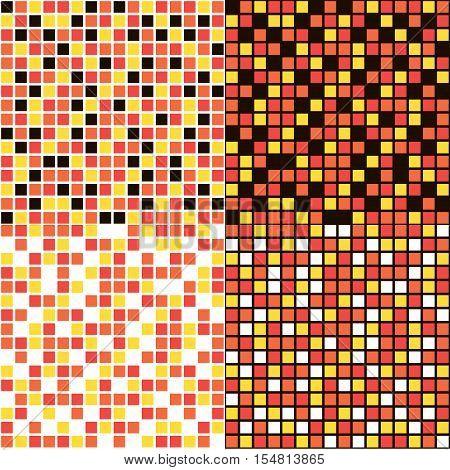 tile pattens set for kitchen or bathroom, vector design
