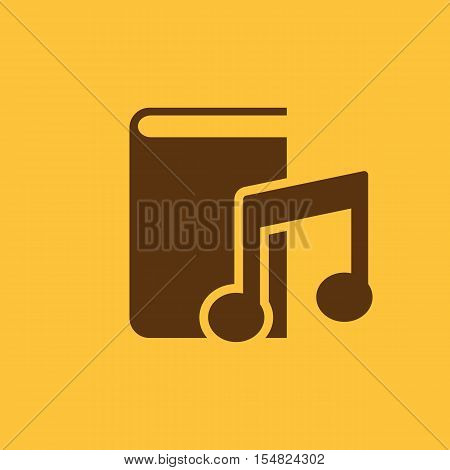 Audiobook icon. vector design. Library, Audiobook symbol. web. graphic. JPG. AI. app. logo. object. flat. image. sign. eps. art. picture - stock vector