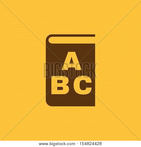 Alphabet icon. vector design. Library and ABC, Alphabet symbol. web. graphic. JPG. AI. app. logo. object. flat. image. sign. eps. art. picture - stock vector
