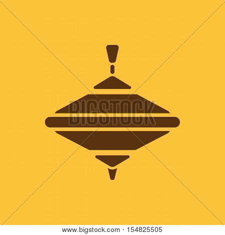 Whirligig icon. Whirlabout vector design. Peg-top, Whirligig symbol. web. graphic. JPG. AI. app. logo. object. flat. image. sign. eps. art. picture - stock vector