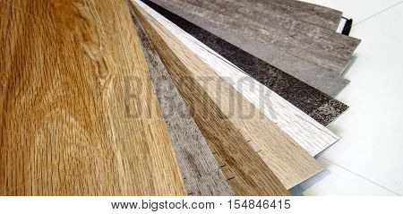 Natural Wooden Laminat Samples For Floor Covering
