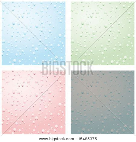 A Set Of Raindrops