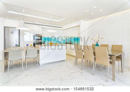 Luxury Interior Design Of Modern Kitchen