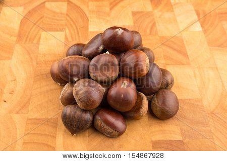 Bunch Of Autumn Seasonal Fruits