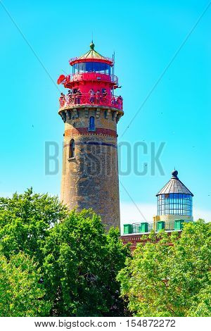 The Lighthouse on Ruegen at Kap Arcona