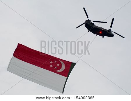 Fighter Airplanes Fly On Sky