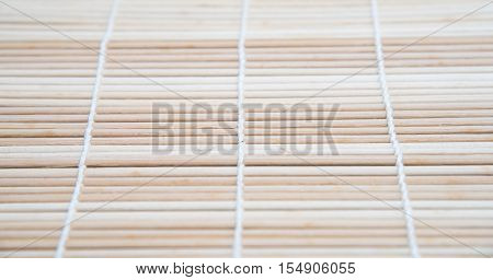 Traditional brown Wood Bamboo Mat Texture background