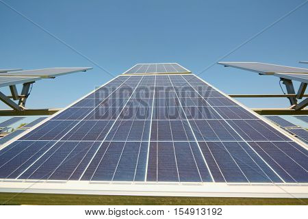 Solar Panels. Alternative Sources Of Power. Solar Farm.