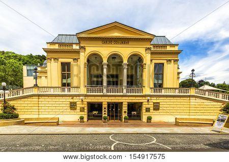 Casino Baden In Baden Bei Wien, Austria.