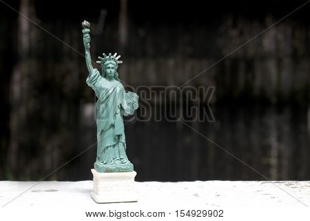 The Statue Of Liberty, Statue Of Liberty, Liberty Statue, American Symbol, New York, Usa, Doll And F