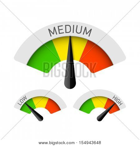Low, medium, high gauges