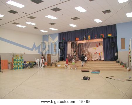 Elementary School Stage