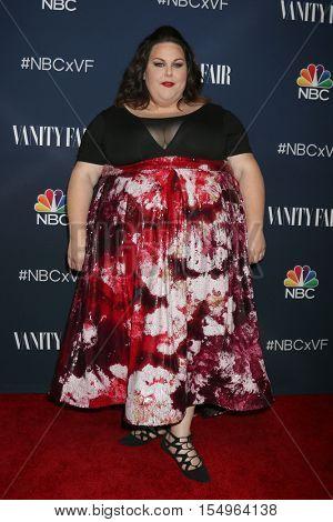 LOS ANGELES - NOV 2:  Chrissy Metz at the NBC And Vanity Fair Toast the 2016-2017 TV Season at NeueHouse Hollywood on November 2, 2016 in Los Angeles, CA