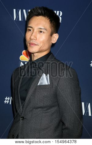 LOS ANGELES - NOV 2:  Manny Jacinto at the NBC And Vanity Fair Toast the 2016-2017 TV Season at NeueHouse Hollywood on November 2, 2016 in Los Angeles, CA