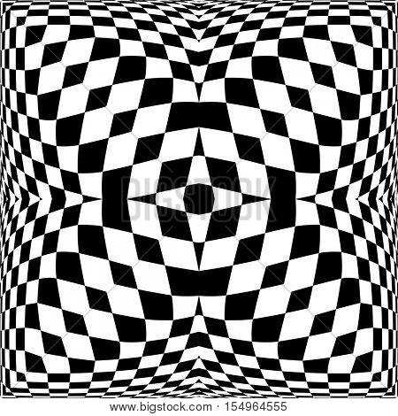 Checkered Background Design Vector Illustration