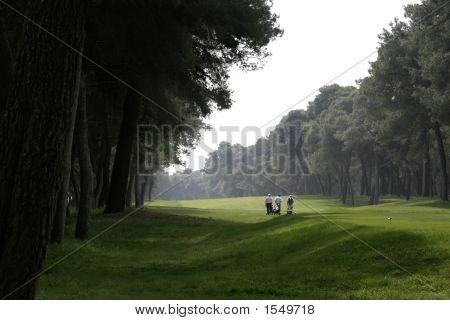 Golf  In Riva Dei Tessali Golf Course, Italy