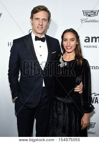 LOS ANGELES - OCT 27:  Teddy Sears and Milissa Sears arrives to the amFAR's Inspiration Gala on October 27, 2016 in Hollywood, CA