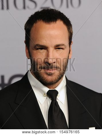 LOS ANGELES - OCT 24:  Tom Ford arrives to the InStyle Awards 2016 on October 24, 2016 in Hollywood, CA