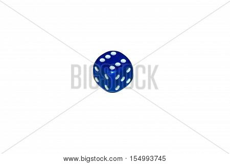 Isolate, dice, dice games, blue dice, casino dice