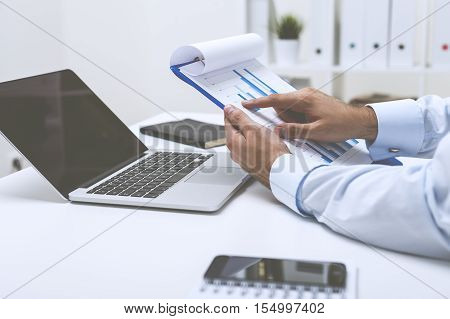 Statistician Working With Data