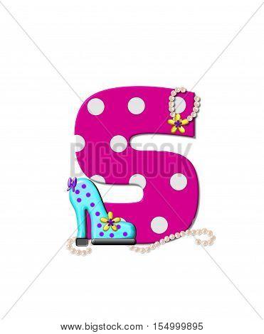 Alphabet Shoe Dive S