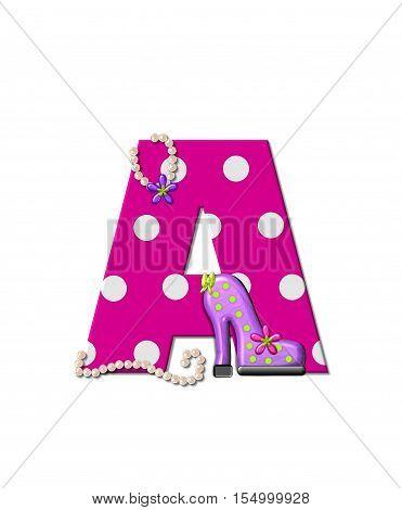 Alphabet Shoe Dive A