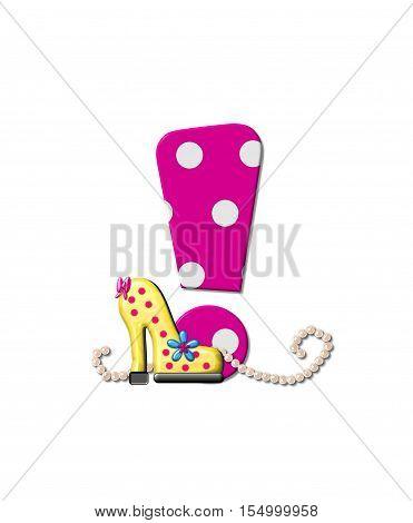 Alphabet Shoe Dive Exclamation