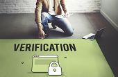 Authorize Protected Verification Privacy Security Concept poster