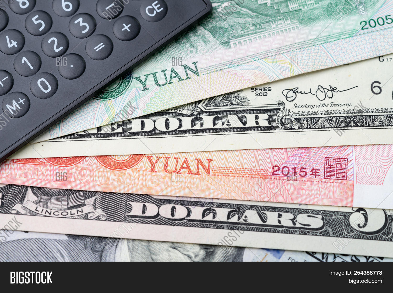 Us China Finance Image Photo Free Trial Stock