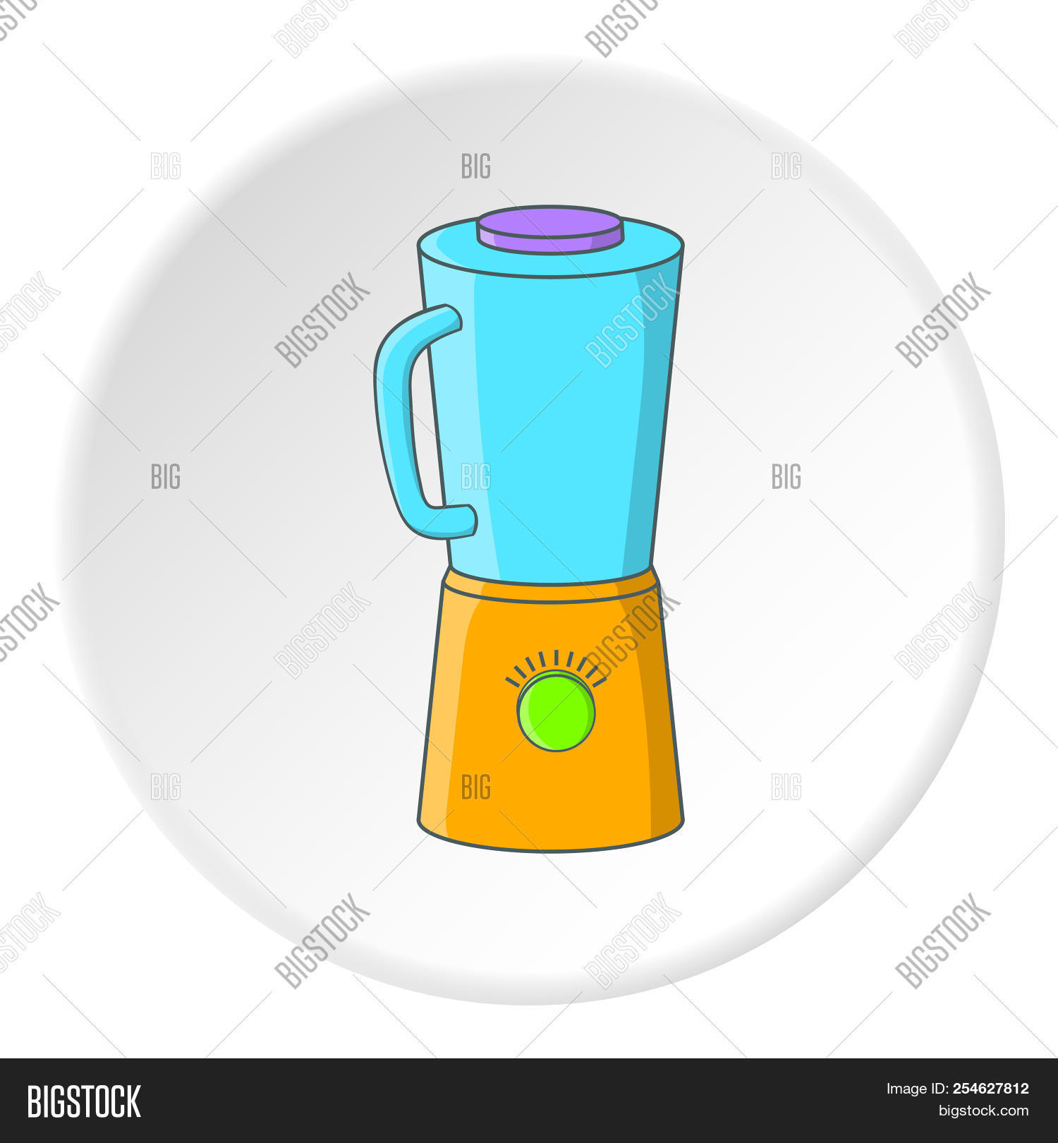 Blender Icon Cartoon Ilration Of For Web