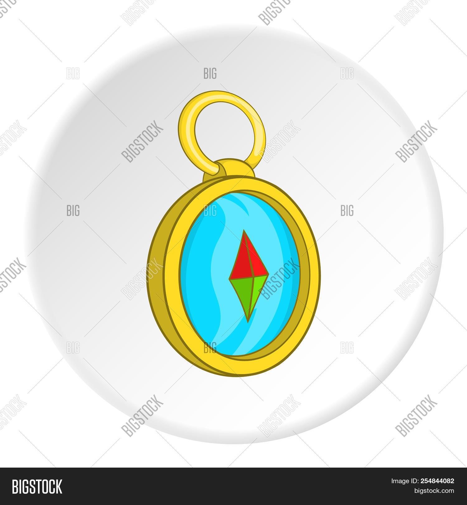 Compass Icon Cartoon Image Photo Free Trial Bigstock