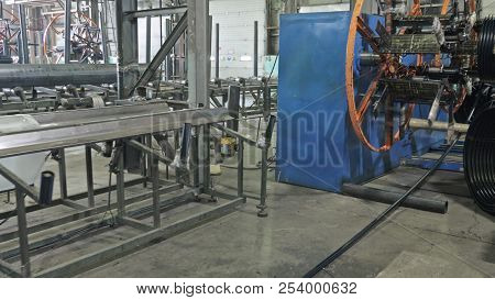 Pipes Manufacturing Production Line. Manufacture Of Plastic Water Pipes Factory. Process Of Making P