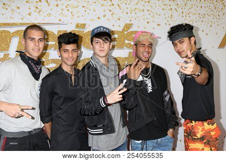 LOS ANGELES - AUG 14:  CNCO at the