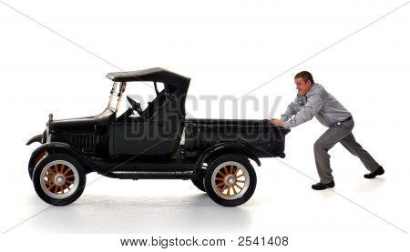 Pushing The Model T