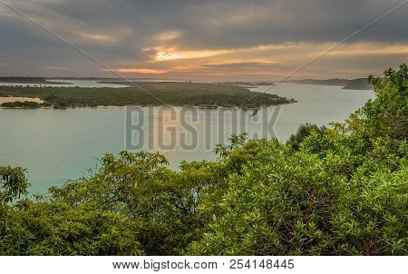 Lakes Entrance In Australia View From Jemmys Point Lookout