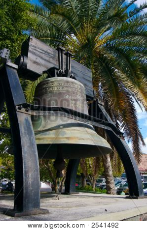 Bell With Palm Tree