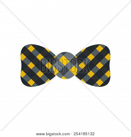 Bow Tie Icon. Flat Illustration Of Bow Tie Icon For Web Isolated On White