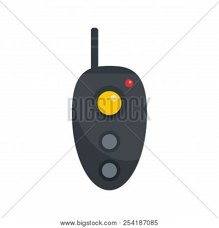 Remote Controller Icon. Flat Illustration Of Remote Controller Icon For Web Isolated On White