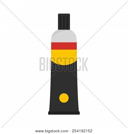 One Moment Glue Icon. Flat Illustration Of One Moment Glue Icon For Web Isolated On White